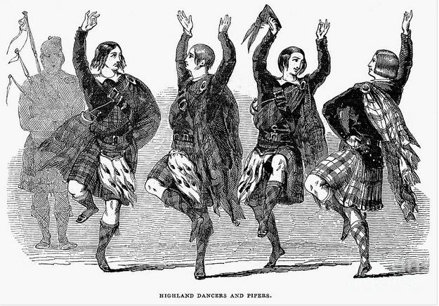 Highland Dancers (1844)