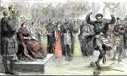 Sword Dance, 1880