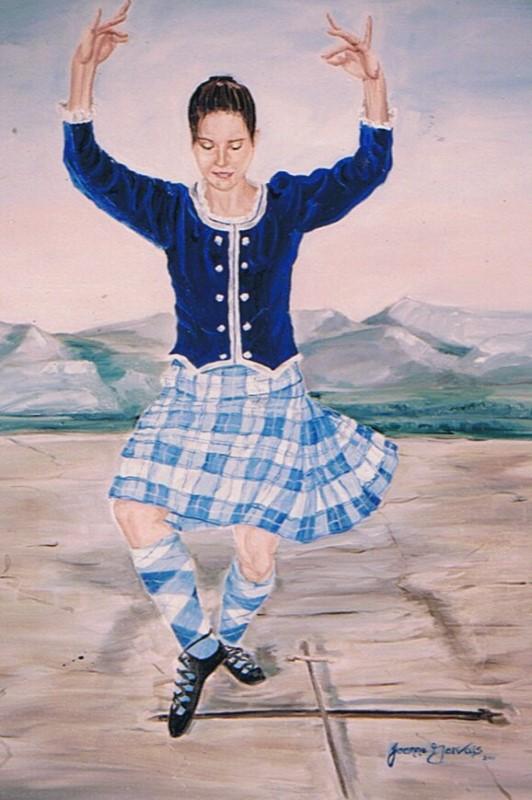 Highland Dance Wedding Gift