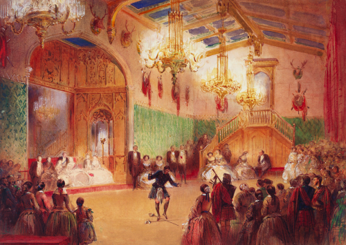 The Gillies' Ball, c. 1859