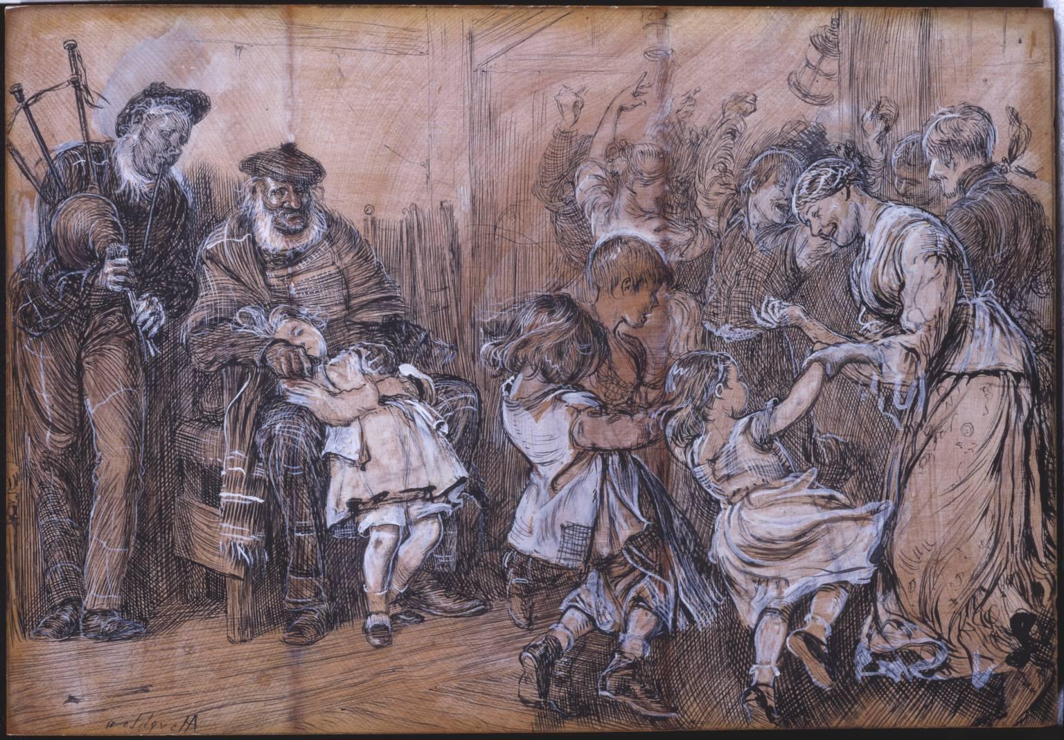 Scotch Scene, date unknown