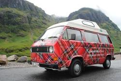 Tartan Camper Van
