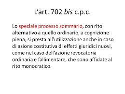 Nel procedimento sommario ex art. 702 bis cpc il termine di impugnazione decorre dalla PEC della can