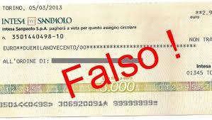 Cassazione: falso in assegno circolare non è reato