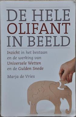 Marja de Vries - de hele olifant in beel