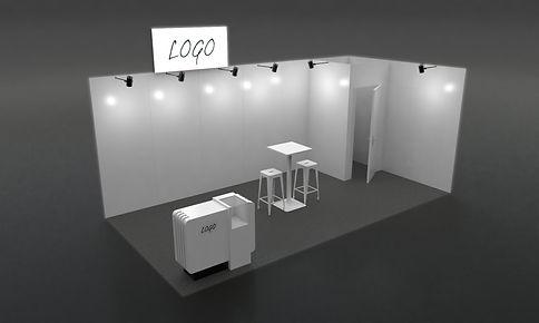 STAND 18m² STANDARD