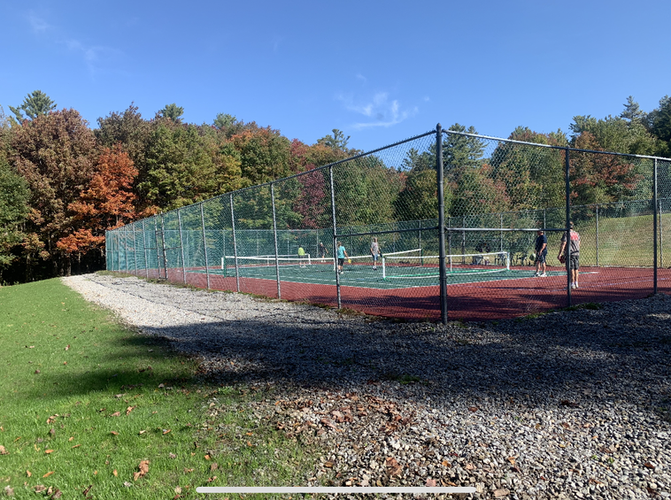 Tennis Courts Updated