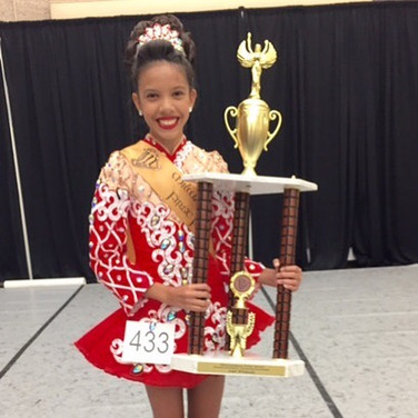 Shannon Lyne- Milwaukee Feis Champion 2016