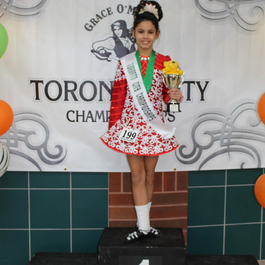 Kaitlin Lyne- Champion at the Toronto City Championships 2015