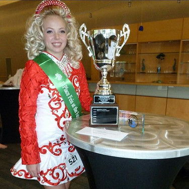 Erin Kappel- Feis at the Falls Champion