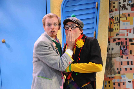 """Octave from """"Scapin"""" at Constellation Theatre Company. 2014."""