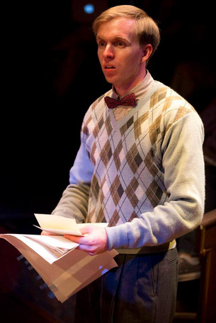 """Tristram Watson from """"Taking Steps"""" at Constellation Theatre Company (Helen Hayes Award Winner). 2012"""
