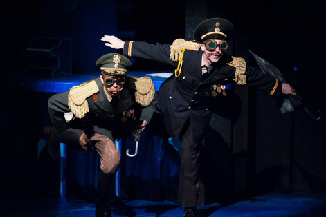 "Head of the Army (left) from ""The BFG"" at Imagination Stage. 2014"