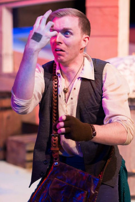 """Finn from """"The Pirate Laureate and the King of the Sea"""" at Flying V Theatre. 2015"""