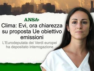 EMISSIONI #GASSERRA: SERVE UNA RIDUZIONE DI ALMENO 60% ENTRO IL 2030,  UE NON GIOCHI A RIBASSO