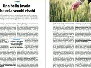 LA MIA INTERVISTA A IL SALVAGENTE SUI NUOVI OGM