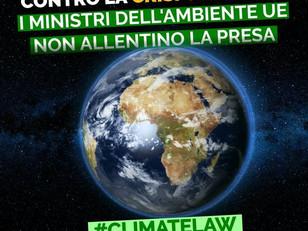 LEGGE CLIMA: MINISTRI UE COMBATTANO LA CRISI CLIMATICA