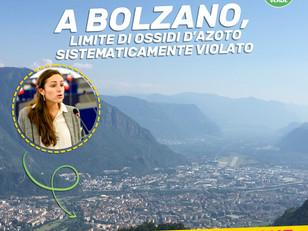 A BOLZANO LIMITE OSSIDI D'AZOTO SISTEMATICAMENTE VIOLATO: HO PRESENTATO INTERROGAZIONE