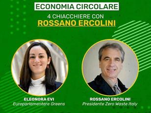 GREEN TALK CON ROSSANO ERCOLINI PER PARLARE DI ECONOMIA CIRCOLARE