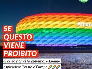 STADIO DI MONACO ARCOBALENO OCCASIONE MANCATA!!