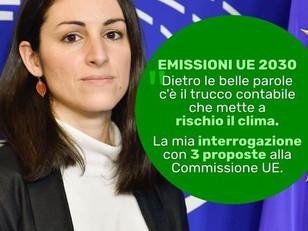 OBIETTIVO EMISSIONI UE: SVELATO IL TRUCCO DELLA COMMISSIONE