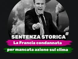 SENTENZA STORICA! LA FRANCIA CONDANNATA PER NON AVER FATTO ABBASTANZA CONTRO LA CRISI CLIMATICA