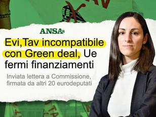 LETTERA EURODEPUTATI NO TAV: INCOMPATIBILE CON GREEN DEAL, UE FERMI I FINANZIAMENTI