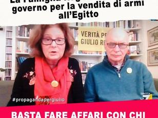 DALLA PARTE DEI GENITORI DI GIULIO REGENI