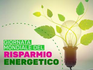 GIORNATA INTERNAZIONALE DEL RISPARMIO ENERGETICO