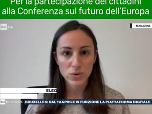 PARTE LA PIATTAFORMA DIGITALE, PER LA PARTECIPAZIONE ALLA CONFERENZA SUL FUTURO DELL'EU