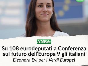 RAPPRESENTERO' L'ITALIA ALLA CONFERENZA SUL FUTURO DELL'EUROPA!
