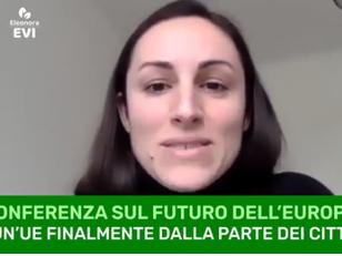 CONFERENZA SUL FUTURO DELL'EUROPA: LA PAROLA AI CITTADINI