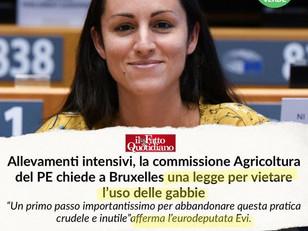 BASTA GABBIE! ADESSO LO CHIEDE ANCHE LA COMMISSIONE AGRICOLTURA DEL PARLAMENTO EUROPEO!