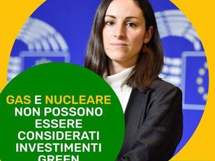 L'UE NON CEDA ALLE LOBBY, GAS E NUCLEARE NON POSSONO ESSERE CONSIDERATI INVESTIMENTI GREEN!