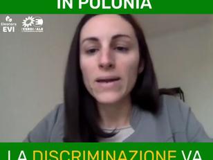 DIRITTI LGBTI VIOLATI IN POLONIA, LA DISCRIMINAZIONE VA FERMATA AD OGNI COSTO