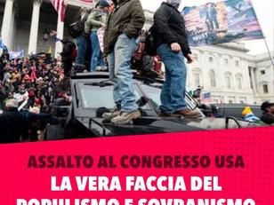 USA: QUANDO IL SOVRANISMO ATTACCA LA DEMOCRAZIA