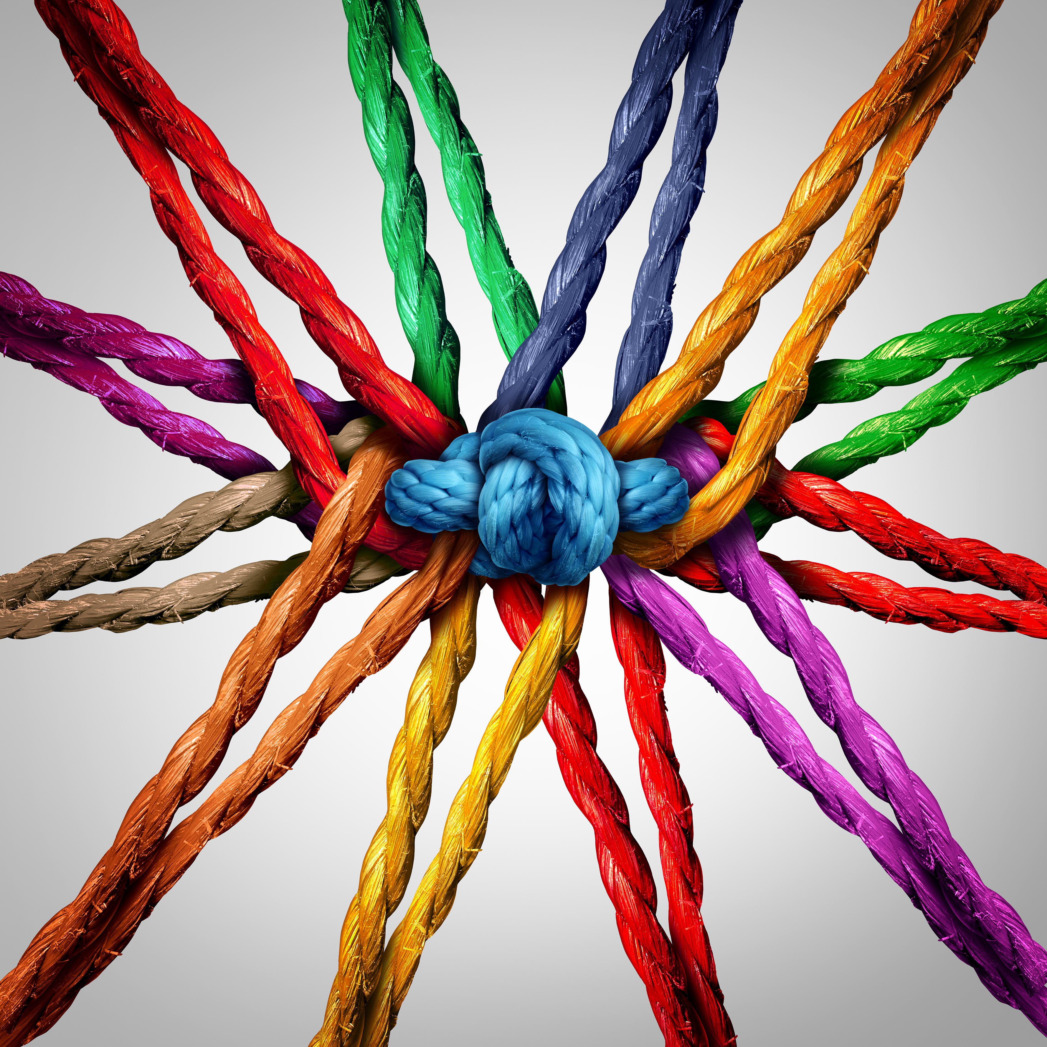 Coloured-ropes-unity-diversity-collaboration