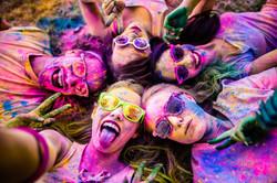 Colourful-young-girls-circle-fun-sober-free
