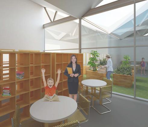 Jillian Hut Glaitness Primary School