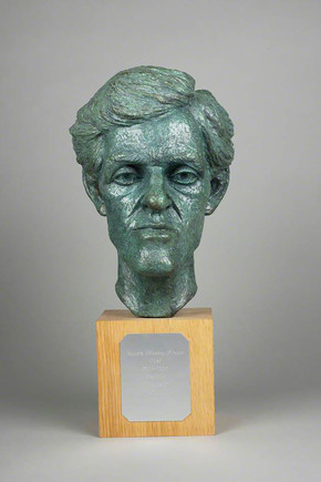 Ian Scott George Mackay Brown (1921–1996) 1991 © The artist  Courtesy of The Pier Arts Centre Collection