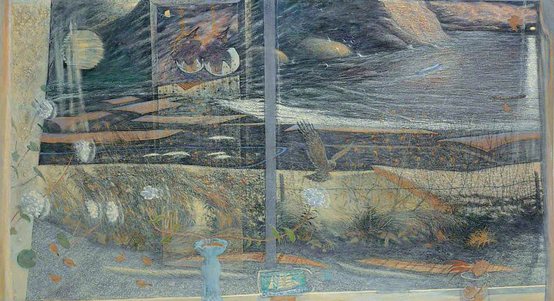 Sylvia Wishart Reflections 2004 © the artists estate  Courtesy of The Pier Arts Centre Collection