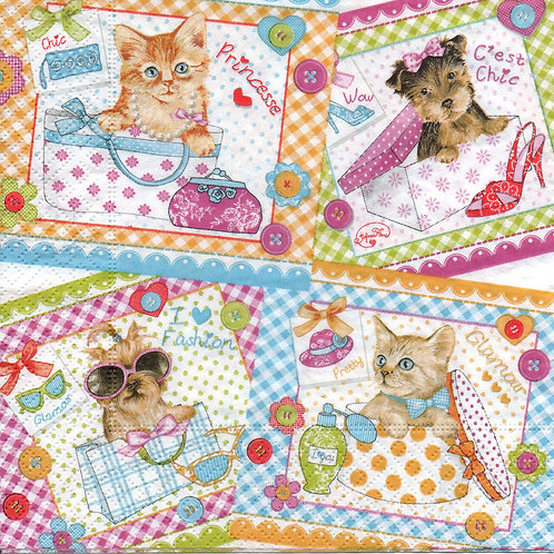 Napkins N512 Lunch size 33x33cm