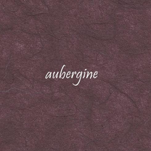 Aubergine Plain Mulberry (rice) paper 45x64cm