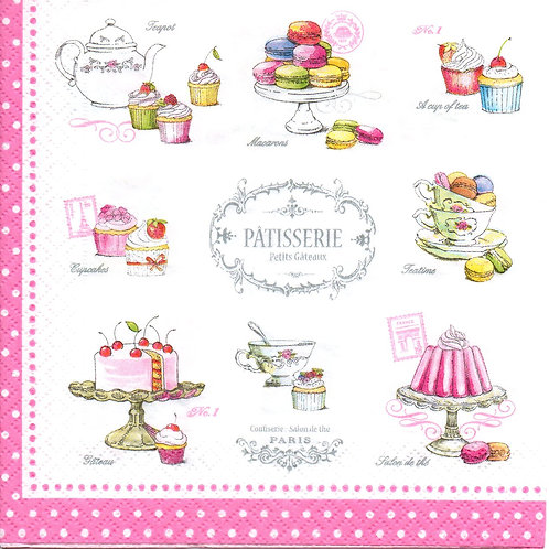 Napkins N099 Lunch size 33x33cm