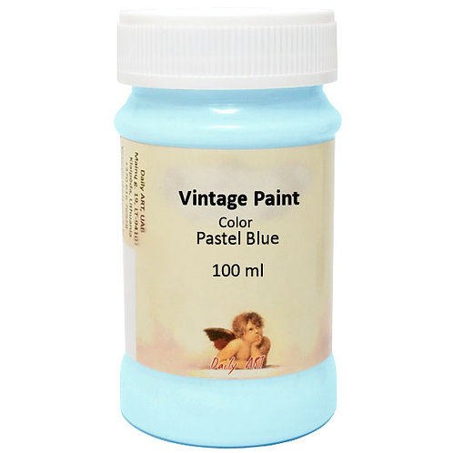 Vintage paint 100ml Daily Art PASTELE BLUE