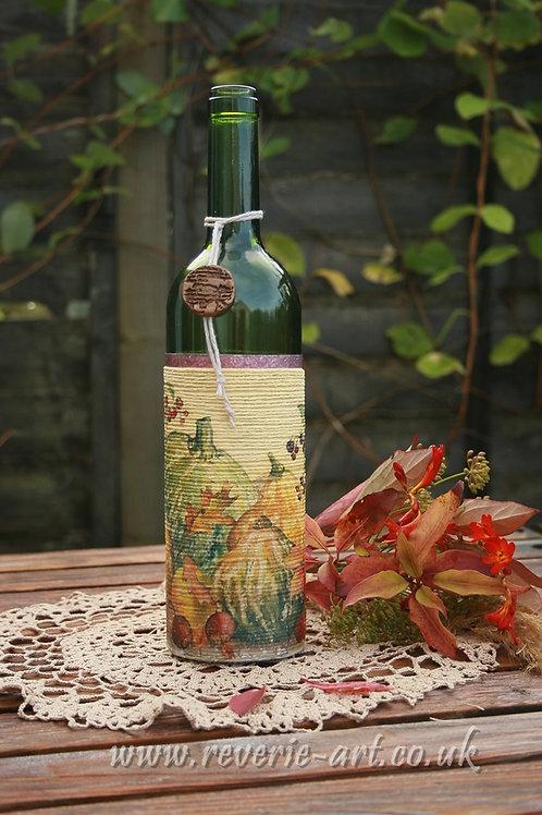Pumpkins - decorative bottle