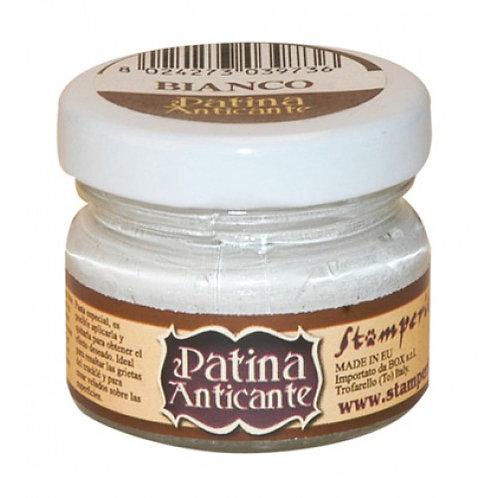 Stamperia - White patina in paste 20ml