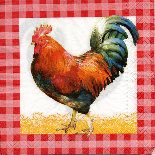 Napkins N597 Lunch size 33x33cm