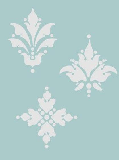 Classic Texture stencils - Americana - Medaillons