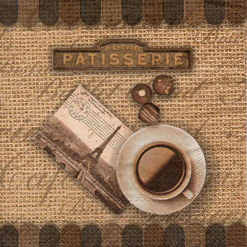 Napkins N346 Lunch size 33x33cm